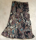 M&S Mix Coloured Paisly Design Flared Skirt (NEW) UK sizes 10 or 20- £35.00