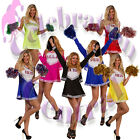 Pompoms pom poms cheerleader hen party dance dress up PACK OF 5