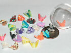 3pc.Miniature Dollhouse tiny Butterfly Turtle dragonfly Charm bead craft finding