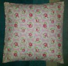 "Cushion Cover Made in Cath Kidston Large Provence Rose Pink 14"" 16"" 18"" 20"""