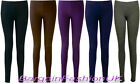 LADIES ANKLE LENGTH STRETCH FIT  COTTON LEGGING IN VARIOUS COLOURS Size (8-20)
