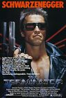 THE TERMINATOR Movie Poster Arnold Shwarzenegger Sci-Fi Horror