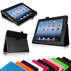 PU Leather Magnetic Case Cover for iPad 2/ iPad 3/ iPad 4 Choose from 12 Colors