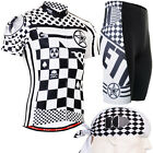 FIXGEAR CS-602-SET Men's Cycling Jersey & Pad Shorts Road Bike shirt MTB bicycle