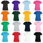 New Fruit of the Loom Womens Lady Fit Valueweight T Shirt 16 Colours Size 8 - 18