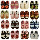 NEW Soft Sole Leather Shoes - Baby Infant Toddler Boy Girl Shower Gift Present
