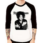 The Cure-Robert Smith rock band Baseball Jersey t-shirt 3/4 sleeve Raglan Tee