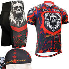 FIXGEAR CS-1102-SET Cycling Jersey & Shorts Kit 23mm Pad Road Bike Shirt Drawers