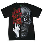 Kreepsville 666 Dead Will Rise Mens Black T Shirt Gothic Horror Zombie Goth Punk