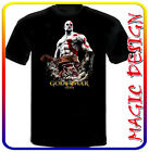 GOD OF WAR KRATOS videogame T-SHIRT manica corta e lunga