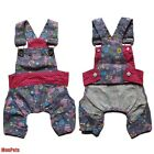 Dog Pants Shorts Suspender Trousers Overalls Jumpsuits Pet Apparel Dog Clothes