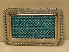 Western Bling Rectangle Belt Buckle