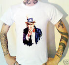Uncle Sam USA T-Shirt America Wants You Patriotic US