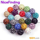 10mm pave swarovski crystal ball jewelry making beads 10 Pcs many color select
