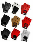 Weight Lifting Gym Gloves, Leather Training Gloves, Mesh Gloves, New Bodybulding