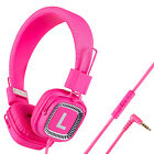 Foldable Childrens Kids Over-Ear DJ Headphones for Kindle MP3 iPod DVD TV Tablet