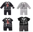 Baby Boy Formal Clothing Jumpsuit Romper 9-18M Tuxedo Baby gentlemen suit set