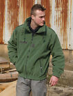 NEW FRENCH ARMY SURPLUS MILITARY ISSUE SAGE GREEN THERMAL FLEECE JACKET,LINER