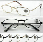L46 3Pairs Metal Frame Reading Glasses/Enhanced Bridge/Great Value Only £5.99