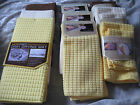 Microfiber Kitchen Towels Utility Cloths Drying Mat Squares Dishes NEW!