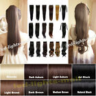 Clip in Ponytails hair extension pieces UK Premium Qulity 4 Styles Pony tail