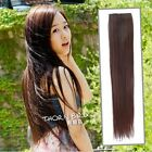 IN-OZ 1PCS Clip in Straight Long Hair Extension 7 Colors 65cm TB702