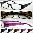 L150 Plastic Reading Glasses Metal Hinges+75+100+200+225+250+275+300+325+350+375