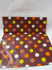 40+ QUALITY FASHION MULTI SPOTTED DOTS CARRIER SHOP BAGS UK SELLER 25cm x 30cm