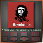 ' Che Guevara Revolution Quote ' Modern Icon Wall Art Deco Canvas Box