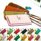 Girl Woman's Retro Vintage Faux Leather Bifold Clutch Handbag Card Wallet Purse