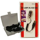 New USB LED Low Power Light Lamp for Notebook Laptop PC With Clip J40103