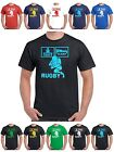 Eat Sleep Rugby T Shirt pic ball shirt kit shorts boots 23 Sizes upto XXXXXXXXL
