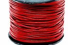 "Genuine Round Leather Cord 1.5 MM 1/16"" DIY Craft Making Supplies - Choose Color"