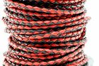 Genuine Round Bolo Braided Leather Cord 3 MM 1 8 DIY Craft Jewelry Supplies