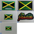 Jamaica Flag Iron On / Sew On Cloth Patch Badge Appliqué Caribbean Jamaican
