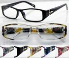 L434 High Quality Reading Glasses/Flower Pattern Arms/Metal Hinges/Super Fashion