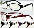 (L287OP)Memory Plastic TR90 Optical Glasses/Reading Glasses/Metal Design Detail