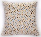 Ra007a Blue Olive Leaf Soft Cotton Fabric Cushion Cover/Pillow Case*Custom Size