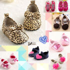 New Arrival Baby Girls SoftSole Crib Shoes Age Size 3-18 Months 11 12 13cm