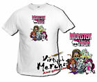 Camiseta MONSTER HIGH 2 tshirt t-shirt niña chica draculaura stein friki xxl