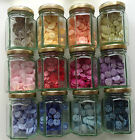"""SPOTTY BUTTONS 13mm / 1/2"""" LOTS OF COLOURS BAG OF 10"""
