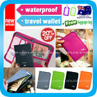 Travel Wallet Passport Holder Card Organizer Bag Card Coin Ticket Case Pouch V2