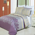 Duvet Cover Bedding Set - 100% Egyptian Cotton Brielle Comforter Cover Duvet