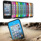 Waterproof - Shockproof Hard Cover Case For Apple iPhone 5 5th  Dirt Dust Proof.