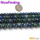 6,8,10,12mm Lapis Lazuli Round Loose Stone Beads For Jewelry Making Strand 15""