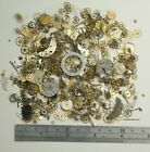 30g Watch parts JEWELLERY MAKING STEAMPUNK ALTERED ART CRAFTS CYBERPUNK cogs