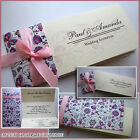 Wedding Invitations Personalised Day Evening Free Draft Free P&P