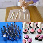 100Pcs Disposable Piping Bag & Icing Nozzle Fondant Cake Decorating Pastry Tips