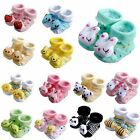 Hot Cute Newborn Baby Unisex Indoor Anti-slip Warm Socks Animal Shoes Boots 0-6M