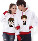 4 Colors Pure love Lovers Couples Hoodie Leisure Thick warm Women Men WL6063